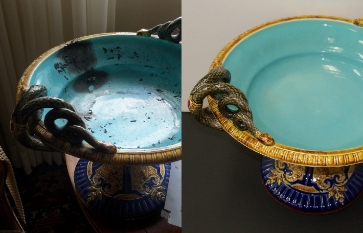 Ceramic Plate Restoration
