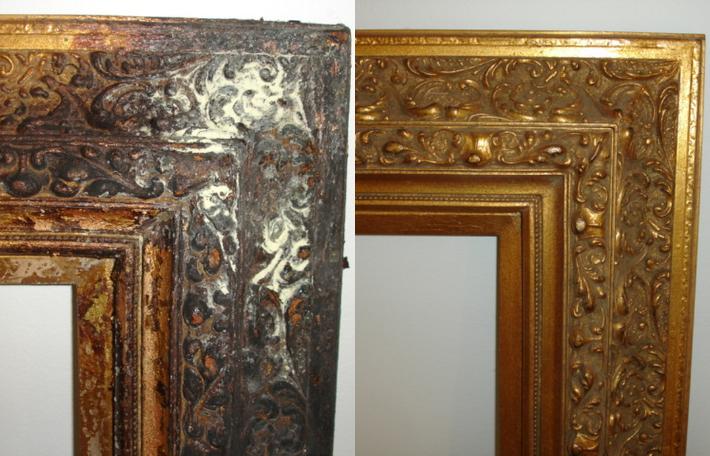 Frame Restoration and Repair